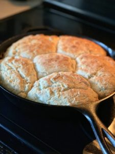 how to reheat biscuits in pan